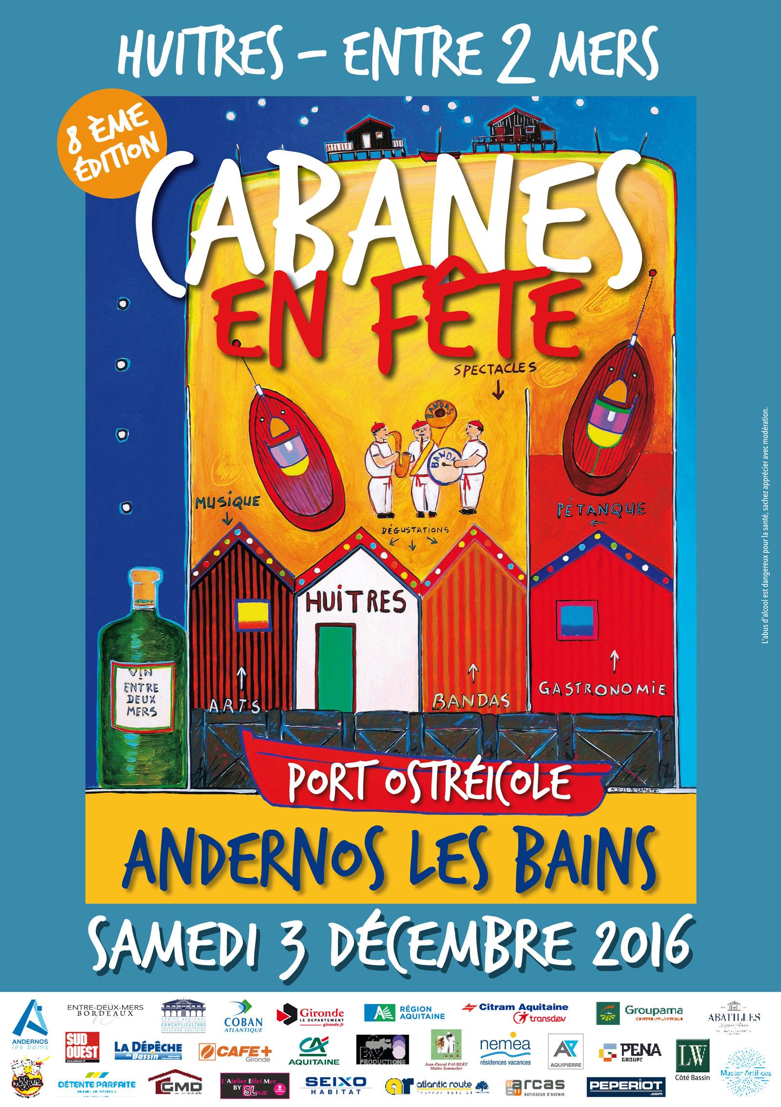Affiche Cabanes En Fete 2016 Web1